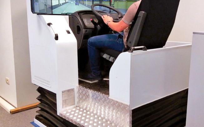 Центарот за обука на АМЕРИТ се опреми со модерен симулатор на камион