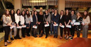 Еуролинк осигурување традиционално додели стипендии за студенти на Правниот факултет во Скопје