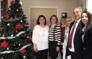 Универзитет Американ Колеџ Скопјe донираше лабораториска центрифуга на Клиниката за детски болести во Скопје