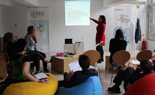 17 стартапи ги презентираа своите бизнис идеи во CEED Hub во Скопје