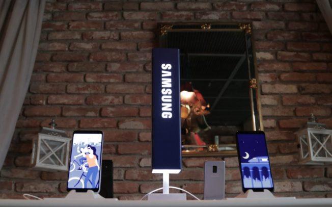 Samsung Galaxy A8 (2018) денес претставен во Македонија