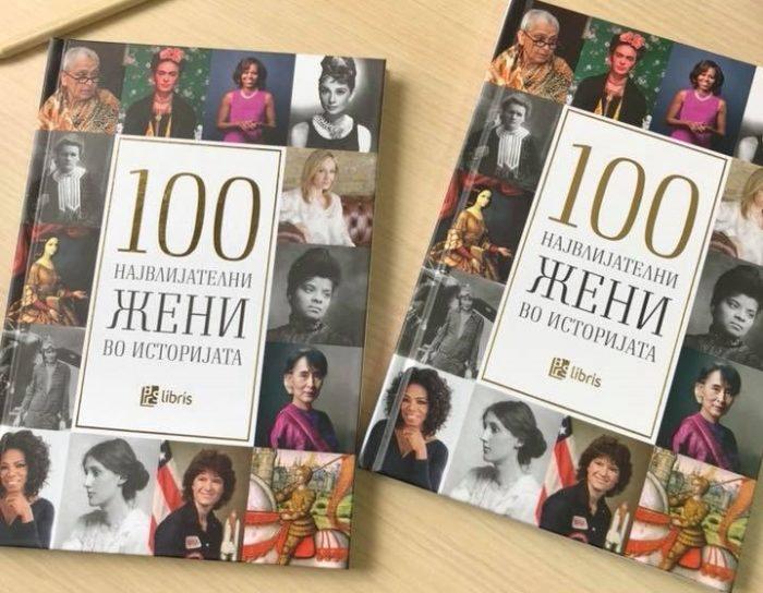 #ИновативностЧита: 100 највлијателни жени во историјата