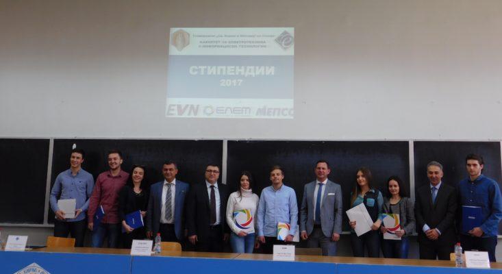ЕЛЕМ, ЕВН и МЕПСО доделија осум стипендии за студентите на ФЕИТ