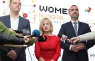 """Вип ја организираше конференцијата """"Women in Digital"""" за влијанието на дигитализацијата врз родовата еднаквост"""