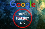 Google забранува рекламирање на криптовалутите