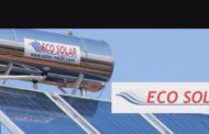 """Ротирачкиот соларен колектор на """"Еко солар"""" од Штип и грее и рекламира"""