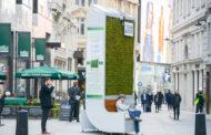 Лондон доби еколошки билборд кој заменува 275 дрва и го чисти воздухот
