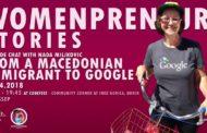 Викендов Womenpreneurs Stories на Codefest во Охрид со Нада Миљковиќ, Македонка која работи во Google