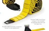 Преносни лежечки полицајци за привремена контрола на сообраќај