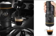 Сакате да пиете свежo еспресо додека возите? Handpresso ќе ви приготви едно за 2 минути