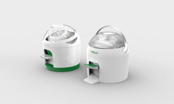 Летово ќе почне да се продава Drumi, машината за перење која не троши струја, а се управува со нозете