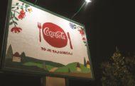 Српските агенции UM Белград и McCann Белград во финале на глобален фестивал со првиот плетен/ткаен Кока-Кола билборд во светот