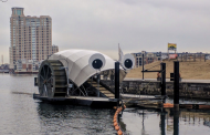 Mr Trash Wheel е соларен собирач на ѓубре од река