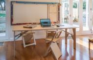 Snap Jack е систем од маса и столови кои се сокриваат во ѕид