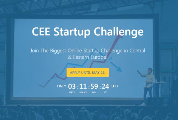 Станете дел од најголемиот натпревар за стартапи во Централна и Источна Европа – CEE Startup Challenge