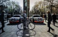 Под висок напон:  Прототипот Audi e-tron во Фарадеев кафез