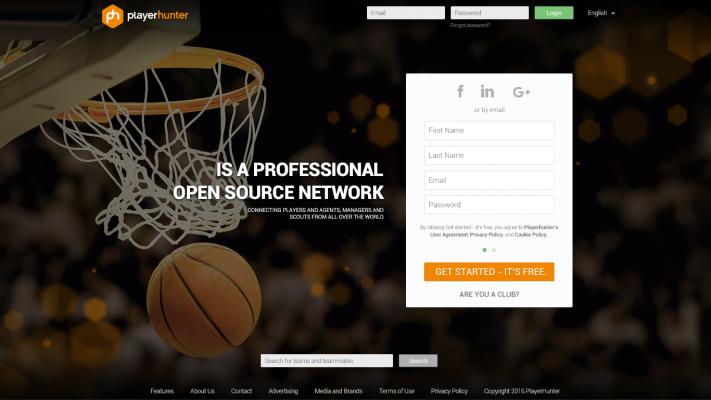 Српската платформа Playerhunter е LinkedIN за спорт