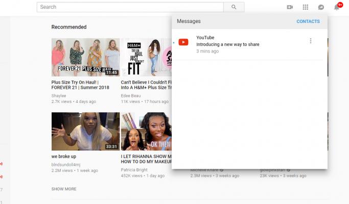 YouTube воведе комуникациска алатка на веб верзијата