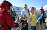 ТАВ го пречека првиот лет од Варшава на аеродрoмот во Охрид