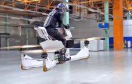 Вака ќе изгледаат летачките моторцикли на полицајците во Дубаи