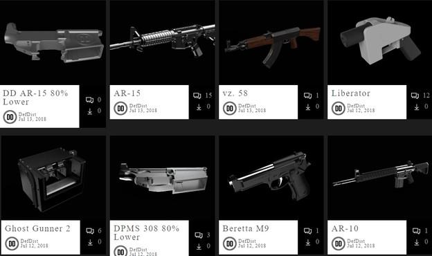 Во САД се легализира 3Д печатењето оружје