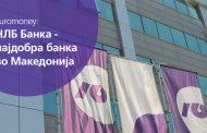 НЛБ Банка со награда за најдобра банка во Македонија од Еуромани Лондон
