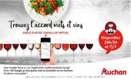 Францускиот малопродажен синџир Auchan воведе гласовен асистент за избор на вино