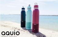Aquio е термос шише опремено со Вluetooth звучник и микрофон