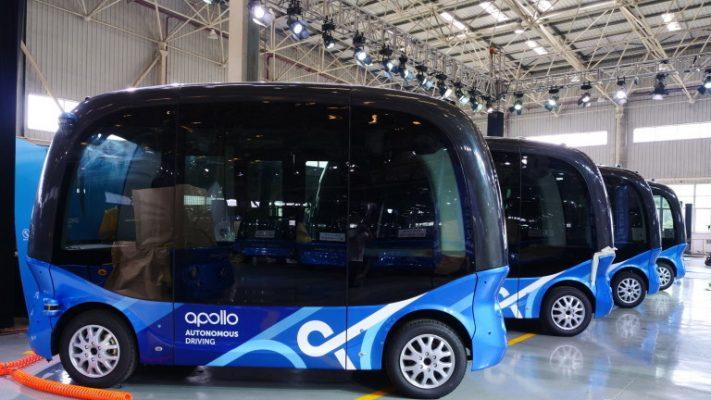 Во Кина почнува масовно производство на автономни автобуси