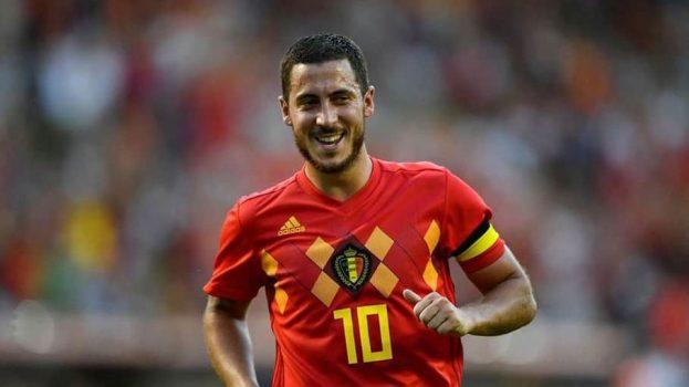 Белгиска телевизија употреби холограм за да направи интервју со фудбалерот Хазард