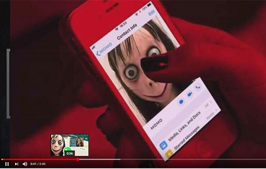 Момо, нова опасна игра се шири на социјалните мрежи