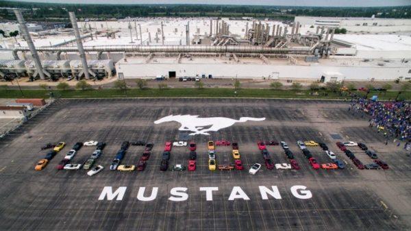 Ford произвeде 10 милиони Mustang возила