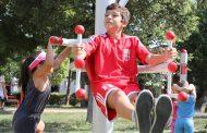 """Пивара Скопје и компанијата Coca-Cola ја донираа 12-тата """"Coca – Cola Активна зона"""" во Кавадрци"""