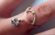 Наместо бурма, пирс со форма на прстен