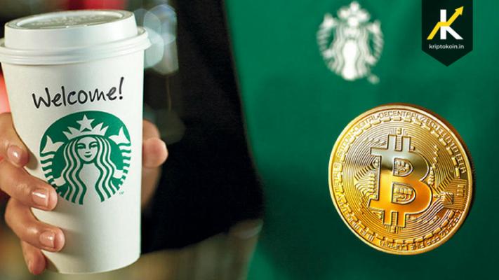 Сега можете да си купите кафе од Starbucks со биткоин