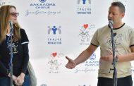 """Алкалоид донираше милион денари на  Здужението на граѓани за ретки болести """"Живот со предизвици"""""""