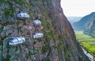 Собите на овој хотел во Перу висат од карпа