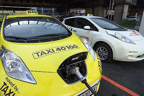 Електрични такси возила во Солун во 2019 година