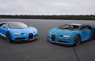 Погледнете го овој величествен Bugatti Chiron направен од LEGO коцки