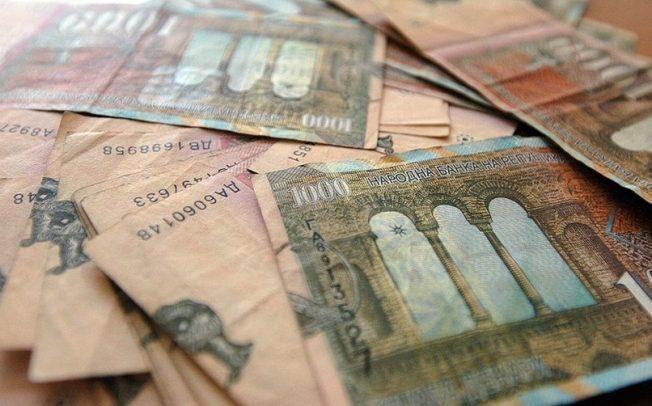 Просечната плата во август била 24.210 денари