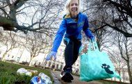 Скопје Мериот хотел го организира првиот plogging настан – џогирање и собирање отпадоци на кејот на Вардар