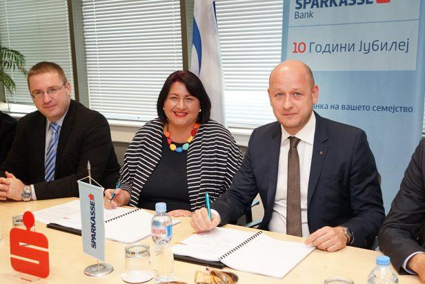ЕБОР и Шпаркасе банка Македонија ќе го зголемат финансирањето на мали и средни фирми
