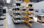 Актива од Штип ги испрати првите колички за транспорт за FedEx и DHL