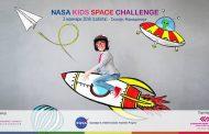 Се одржува NASA Kids Space Challenge – Skopje, Macedonia, дел од интернационалниот натпревар NASA Space Apps Challenge.