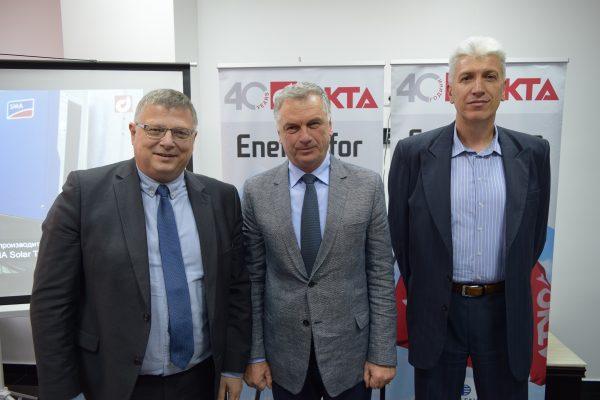 Првата фотоволтаична централа на ОКТА инсталирана во Единство Струмица пуштена во употреба