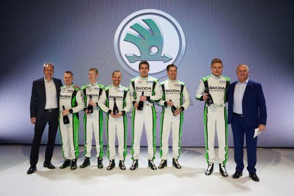 ŠKODA повторно ја одбрани WRC 2 титулата