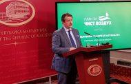 Одвоени 1,5 милиони евра за двегодишен план за справување со аерозагадувањето