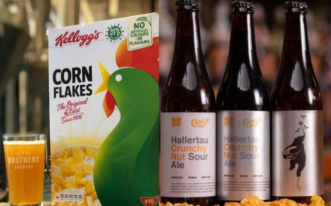 Прехранбената компанија Kelloggs ќе прави пиво од отпадоци од корнфлејкс