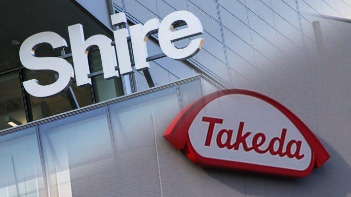 Најголемата аквизиција на компанија годинава  – јапонски Takeda доби зелено светло за преземање на ирски Shire