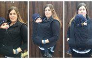 ВИДЕО: Со овој додаток за јакна, родителите ќе се греат заедно со своето бебе